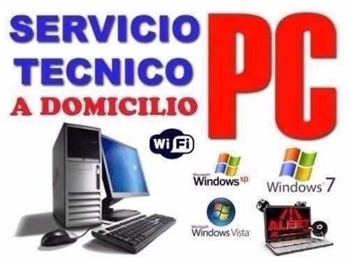 servicio tecnico  computadoras, redes y sistemas