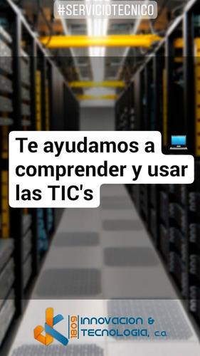 servicio técnico - computadoras / servidores / redes / web