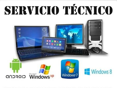 servicio técnico computadoras y partes a domicilio .