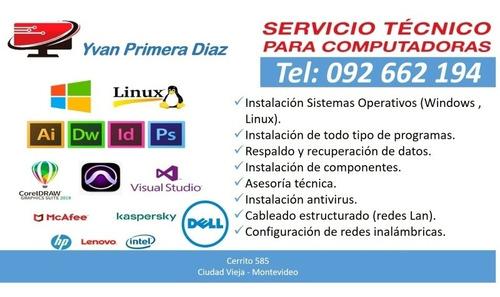 servicio técnico computadoras y redes