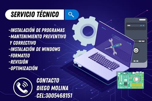 servicio técnico computadores