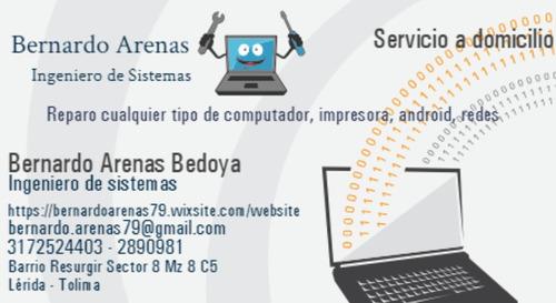 servicio técnico computadores sistemas en general