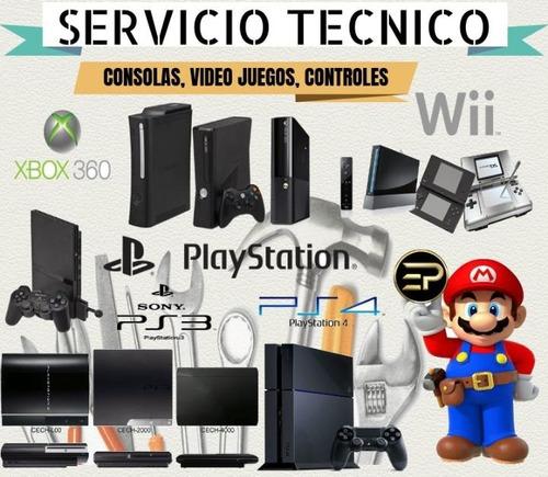 servicio técnico consolas chips , juegos ps4,ps3,xbox,psp.