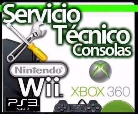 servicio tecnico consolas de videojuego y pc