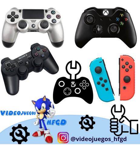 servicio técnico consolas ps4 xbox one nintendo, y controles