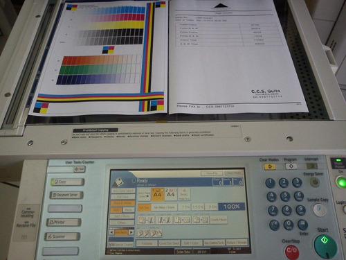 servicio tecnico copiadoras ricoh