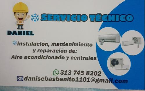 servicio técnico de aire acondicionado,mantenimiento,intalac