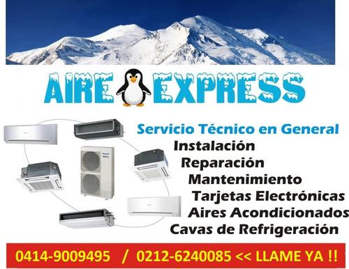 servicio tecnico de aires acondicionados refrigeracion