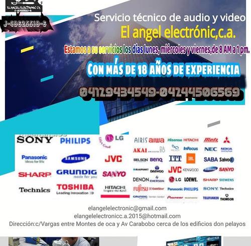 servicio técnico de audio y video el angel electrónic