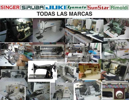 servicio técnico de bordadoras fotocopiadoras máquinas coser