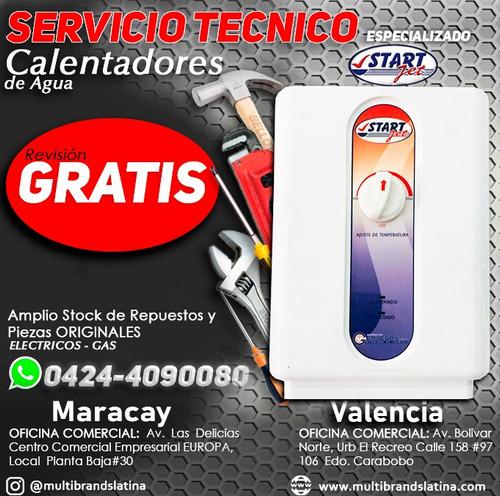 servicio técnico de calentadores de agua eléctricos