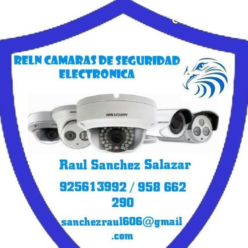 servicio técnico de cámaras de seguridad y alarmas,incendio