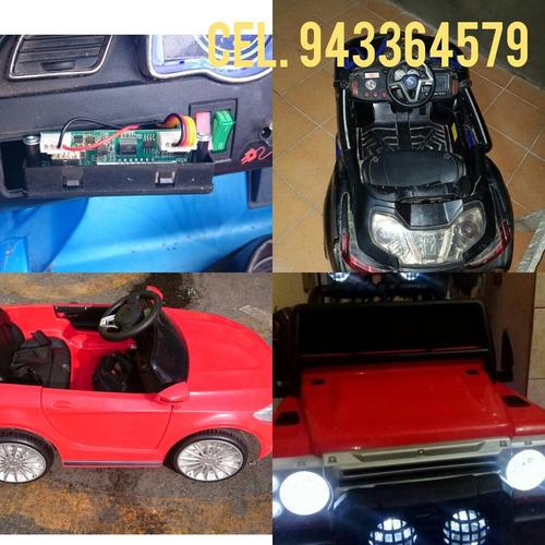 servicio técnico de carritos a batería para niños