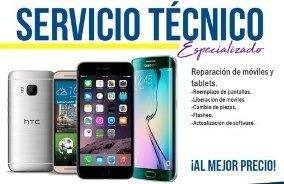 servicio técnico de celulares liberación software