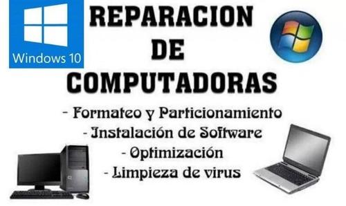 servicio técnico de computadoras e instalación de cámaras
