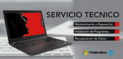servicio tecnico de computadoras y laptops.