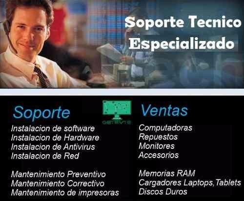 servicio técnico de computadoras y laptops a domicilio