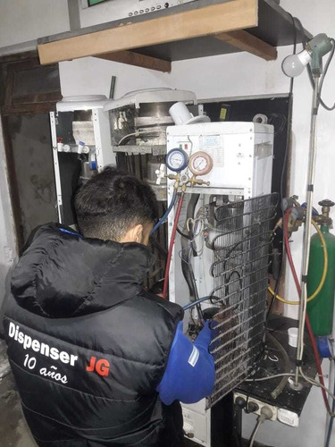 servicio tecnico de dispenser frio-calor reparacion en gral