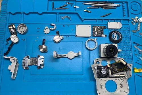 servicio tecnico de drones dji mavic, phantom, inspire, air