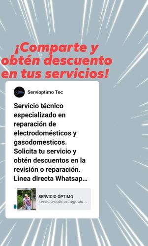servicio técnico de electrodomésticos y gasodomesticos