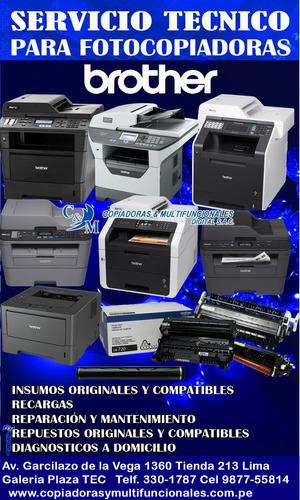 servicio tecnico de fotocopiadoras a domicilio repuestos