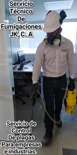 servicio técnico de fumigaciones jk, c.a