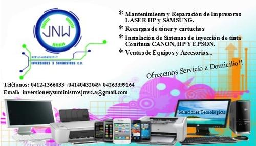 servicio tecnico de impresoras