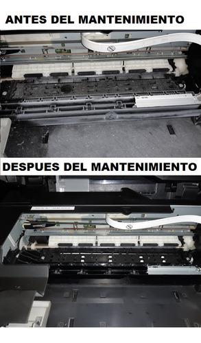 servicio técnico de impresoras epson, hp, canon, brother
