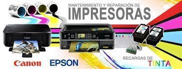 servicio técnico de impresoras epson y canon sistema de tint