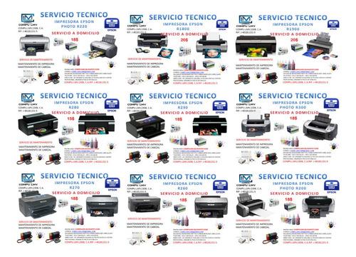 servicio técnico de impresoras epson.hp.canon.brother.lexmar