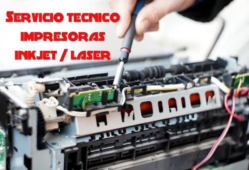 servicio técnico de impresoras especializado belgrano