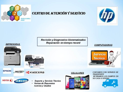 servicio técnico de impresoras laptop pc celulares y otros