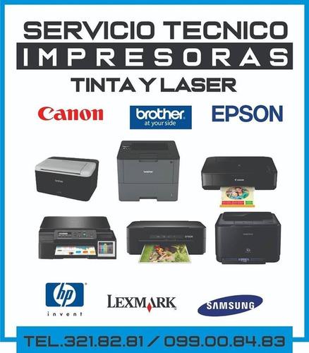 servicio tecnico de impresoras laser y de tinta - colón