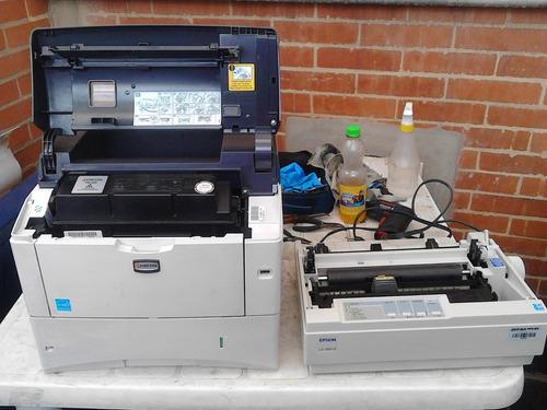 servicio tecnico de impresoras plotters video beam scaners