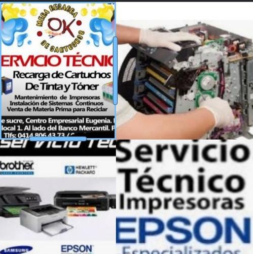 servicio técnico de impresoras y tóner