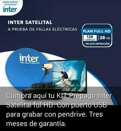 servicio técnico de instalación kit inter satélital hd