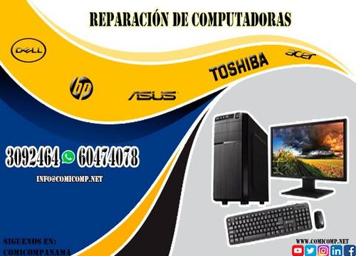 servicio técnico de laptop, all in one y pc todas las marcas
