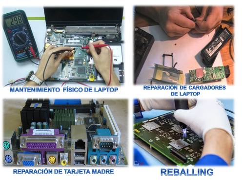 servicio tecnico de laptop y cargadores