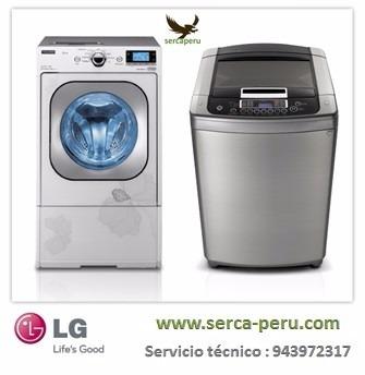 servicio tecnico de lavadoras lg a domicilio en lima