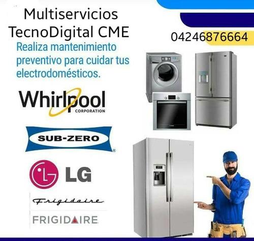 servicio técnico de lavadoras secadoras neveras aires