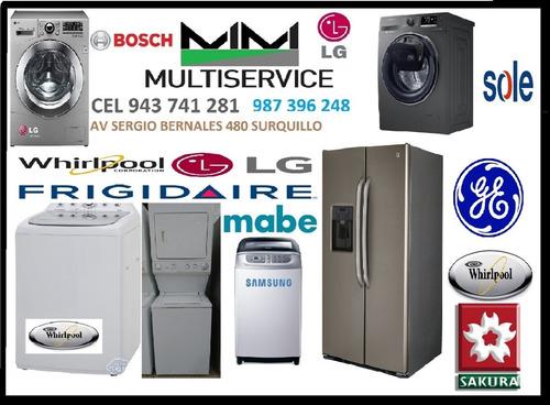 servicio técnico de lavadoras termas  943 741 281
