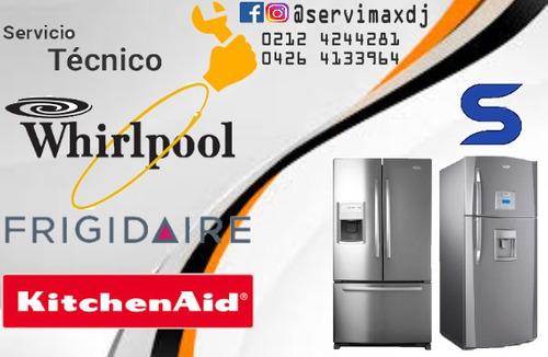servicio técnico de lavadoras whirlpool frigidaire neveras
