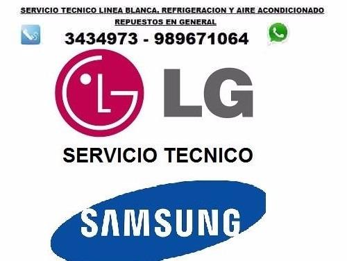 servicio tecnico de lavadoras,secadoras,refrigeradoras; etc.