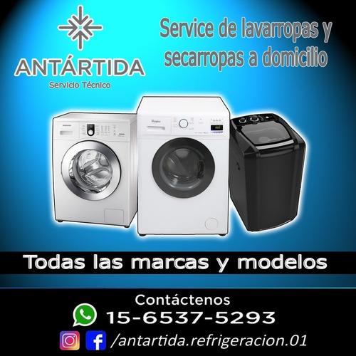 servicio técnico de lavarropas y secarropas a domicilio.