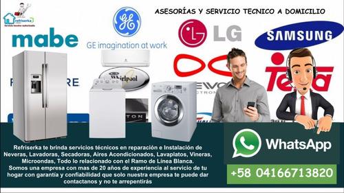 servicio técnico de linea blanca lavadora nevera secadoras..
