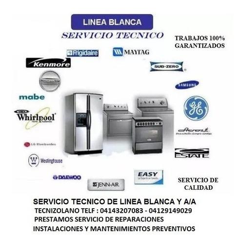 servicio tecnico de linea blanca y a/a