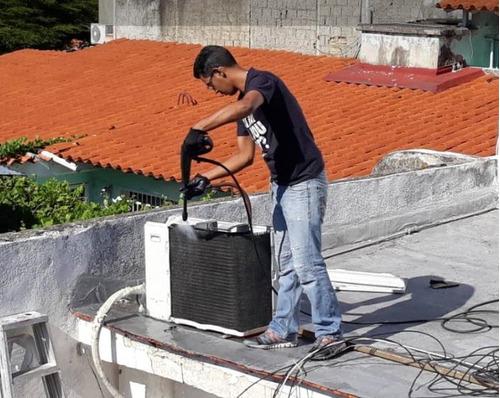 servicio técnico  de mantenimiento split y portatiles