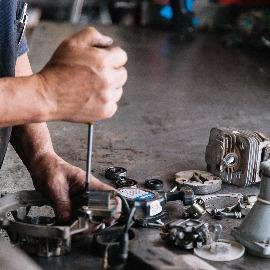 servicio técnico de maquinaria agrícola guadañas motosierras