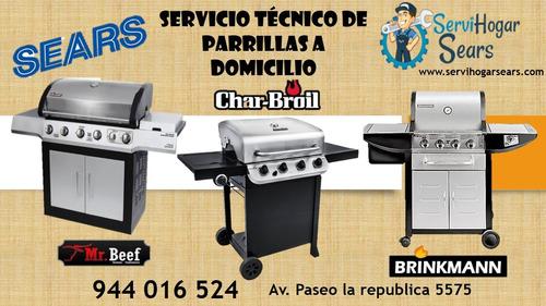 servicio tecnico de parrillas a domicilio 01-4806125