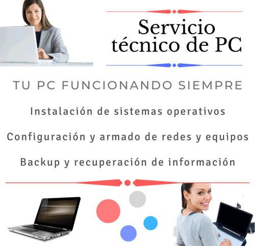 servicio tecnico de pc a domicilio - formateo - instalacion